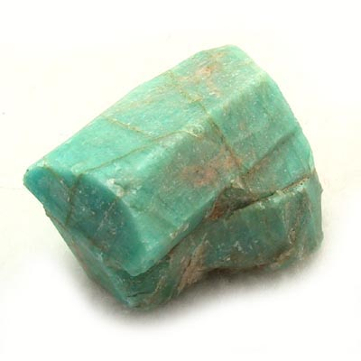 Amazonite is a beautiful green variety of microcline feldspar. I