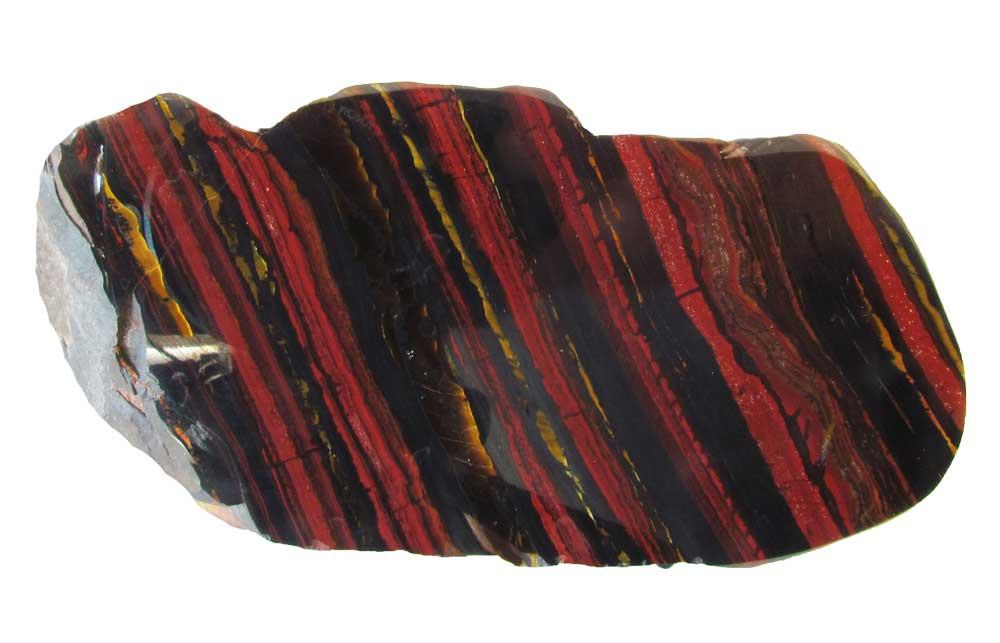 Polished Banded Ironstone, Australia