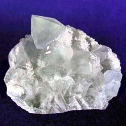 Fluorite is a halide mineral that is soft and usually colorless..